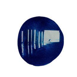 Цианотипия от Ирины Глик / фрагмент из цикла «Синим по белому & quot»