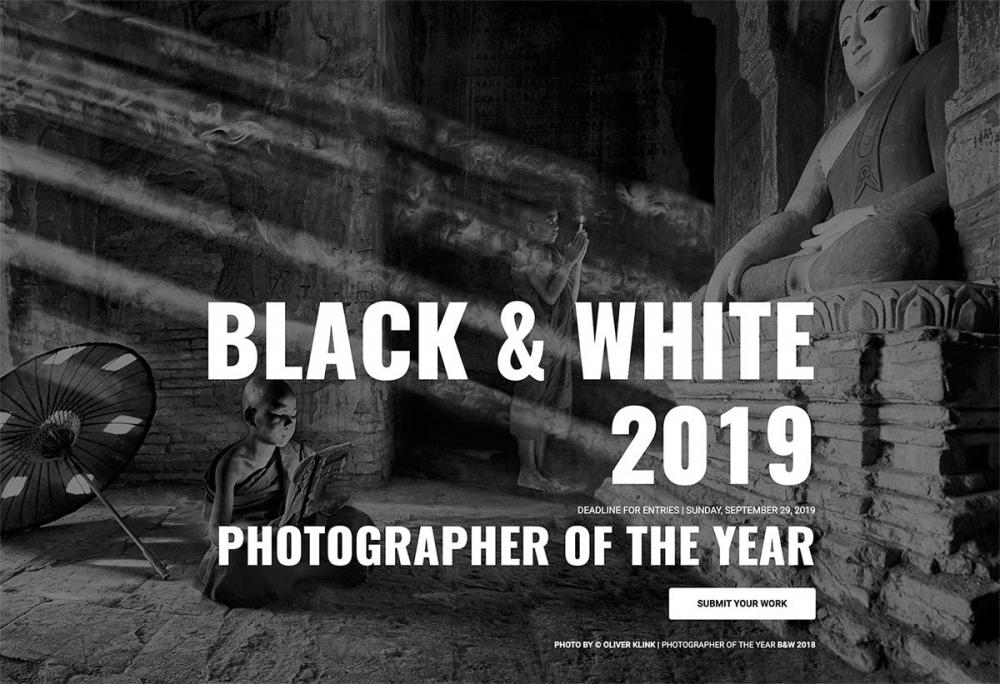 Фотоконкурс Black & White Awards 2019