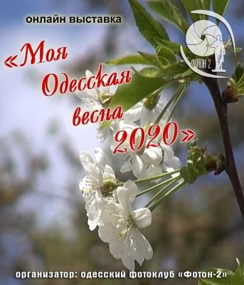 Онлайн-фотовыставка «Моя одесская весна 2020»